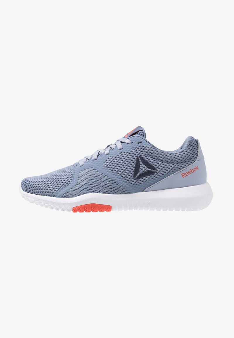Reebok - REEBOK FLEXAGON FORCE - Sports shoes - denim/indigo/navy/white