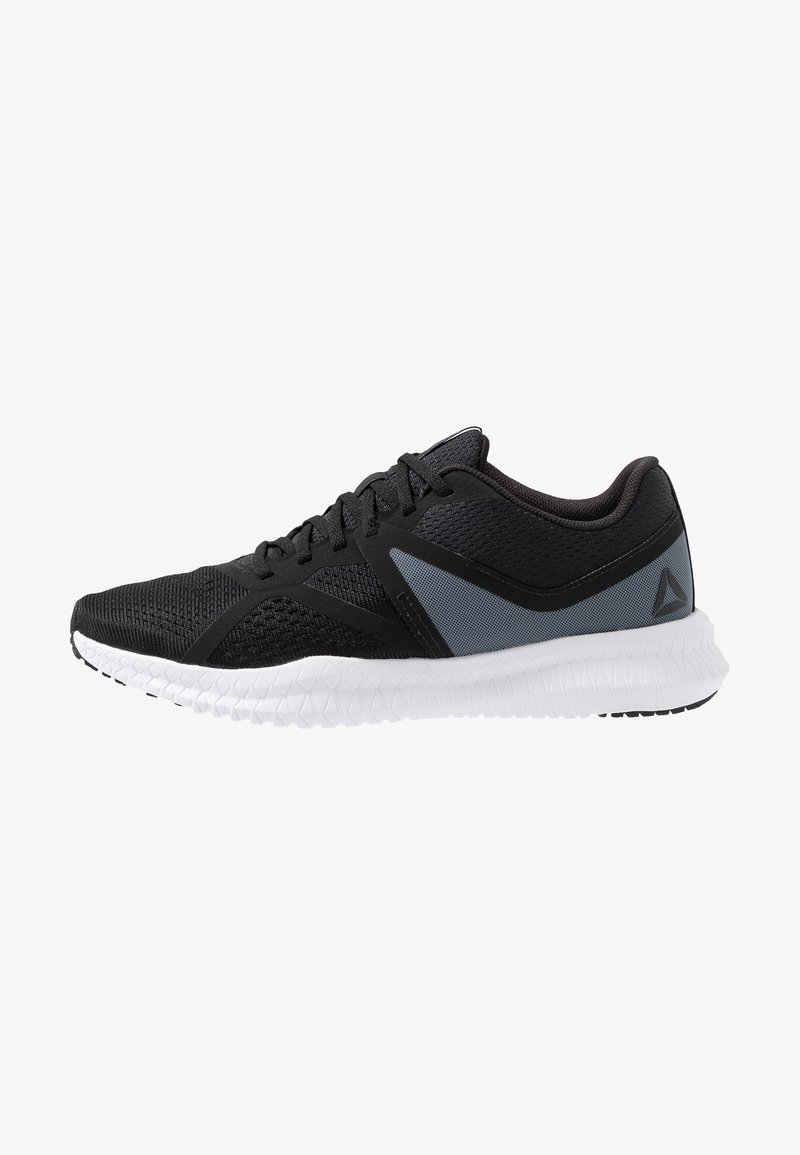Reebok - FLEXAGON FIT - Treningssko - black/white/true grey