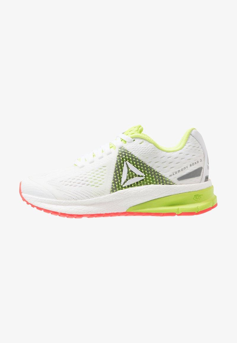 Reebok - HARMONY ROAD 3 - Obuwie do biegania treningowe - white/lime/red/shadow/black