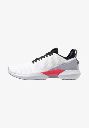INTERRUPTED SOLE - Chaussures de running neutres - white/black/cold grey