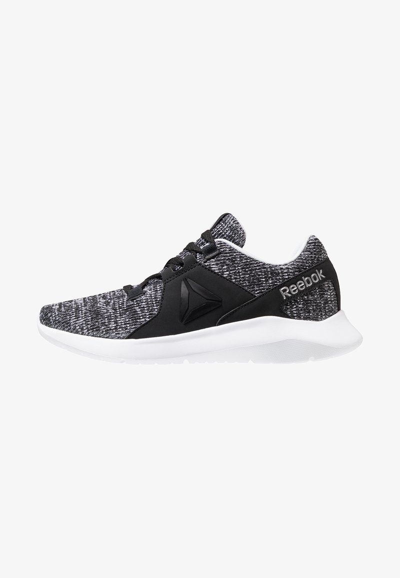 Reebok - ENERGYLUX - Chaussures de running neutres - black/white/silver metallic
