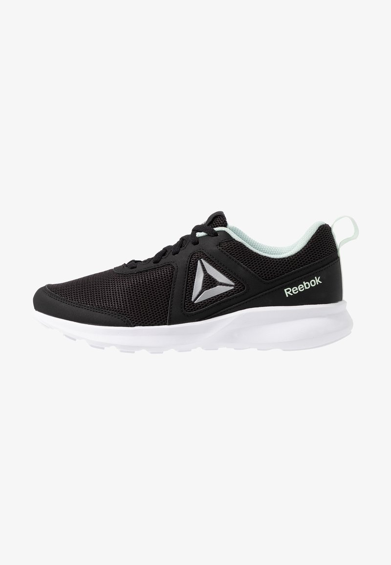 Reebok - QUICK MOTION - Zapatillas de running neutras - black/white/emeice