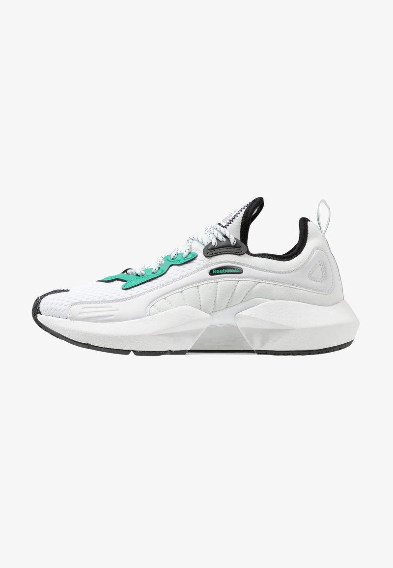 Reebok - SOLE FURY 00 - Sportovní boty - white/black/emeral