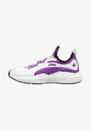 SOLE FURY 00 - Sports shoes - purple/white/neon lime