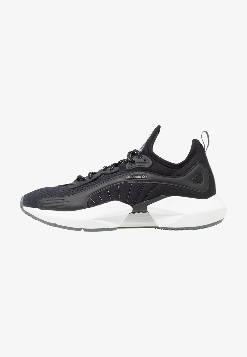 Reebok - SOLE FURY 00 - Sports shoes - black/white