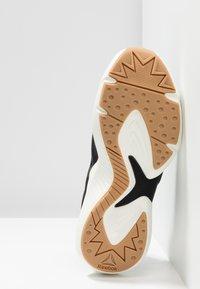 Reebok - SOLE FURY ADAPT - Zapatillas de running neutras - black/chalk/white - 4