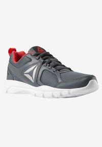 Reebok - FUSION  - Sports shoes - grey/red/black - 2