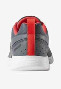 Reebok - FUSION  - Sports shoes - grey/red/black - 3