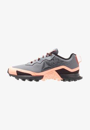 ALL TERRAIN CRAZE - Chaussures de running - cold grey/sun glow
