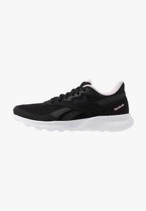 QUICK MOTION 2.0 - Laufschuh Neutral - black/white/pix pink