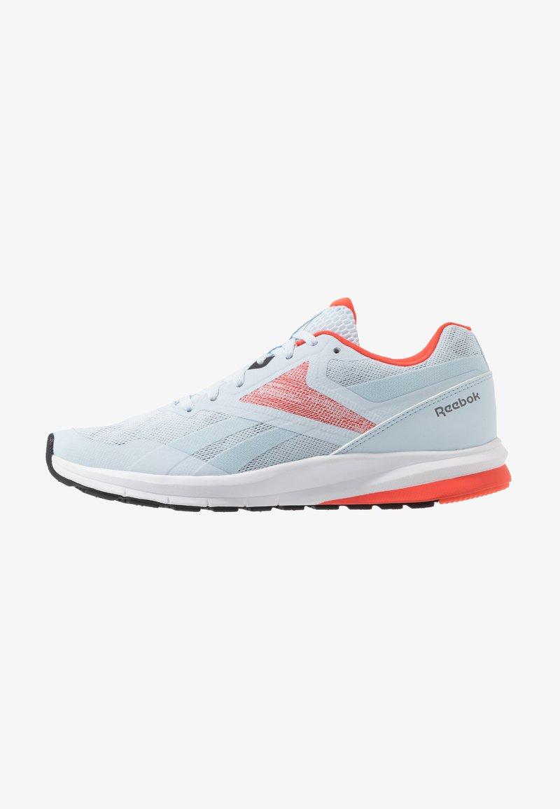 Reebok - RUNNER 4.0 - Neutrální běžecké boty - glass blue/vivid orange/cool grey