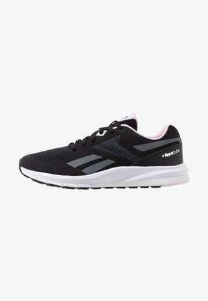 RUNNER 4.0 - Chaussures de running neutres - black/cloud grey/pix pink