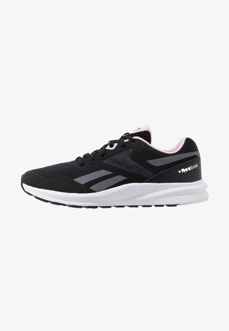 Reebok - RUNNER 4.0 - Obuwie do biegania treningowe - black/cloud grey/pix pink