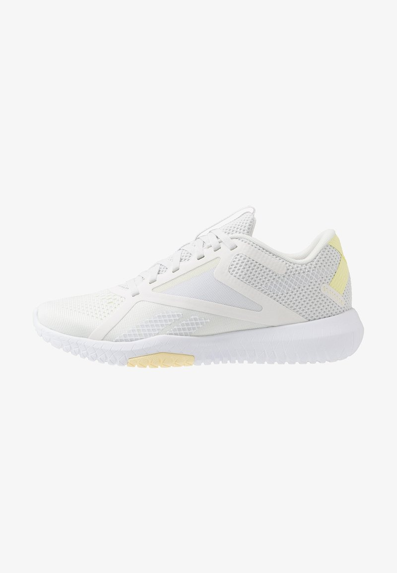 Reebok - FLEXAGON FORCE 2.0 - Chaussures d'entraînement et de fitness - true grey/white/lemon glow