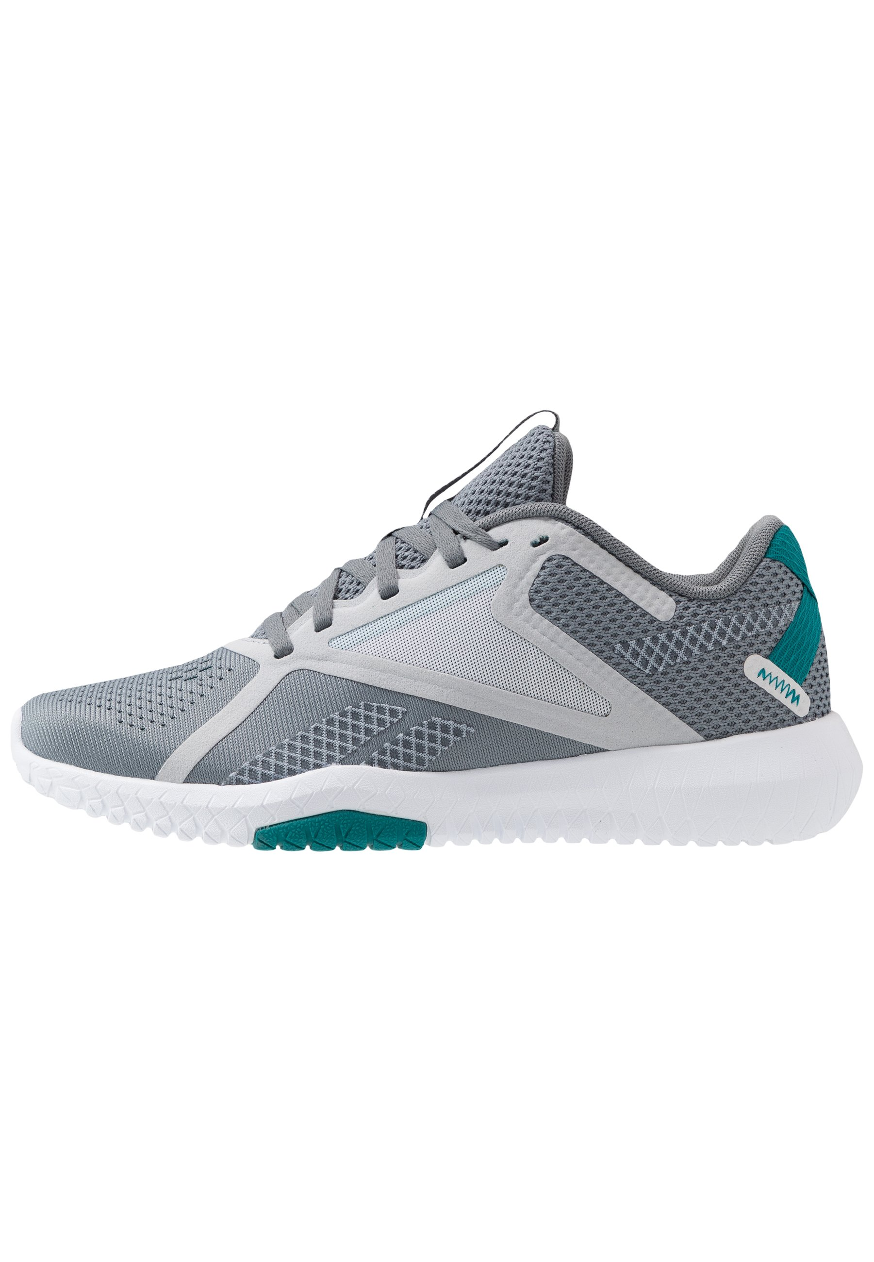 Reebok Flexagon Force 2.0 - Gym- & Träningskor Cold Grey/sea Teal