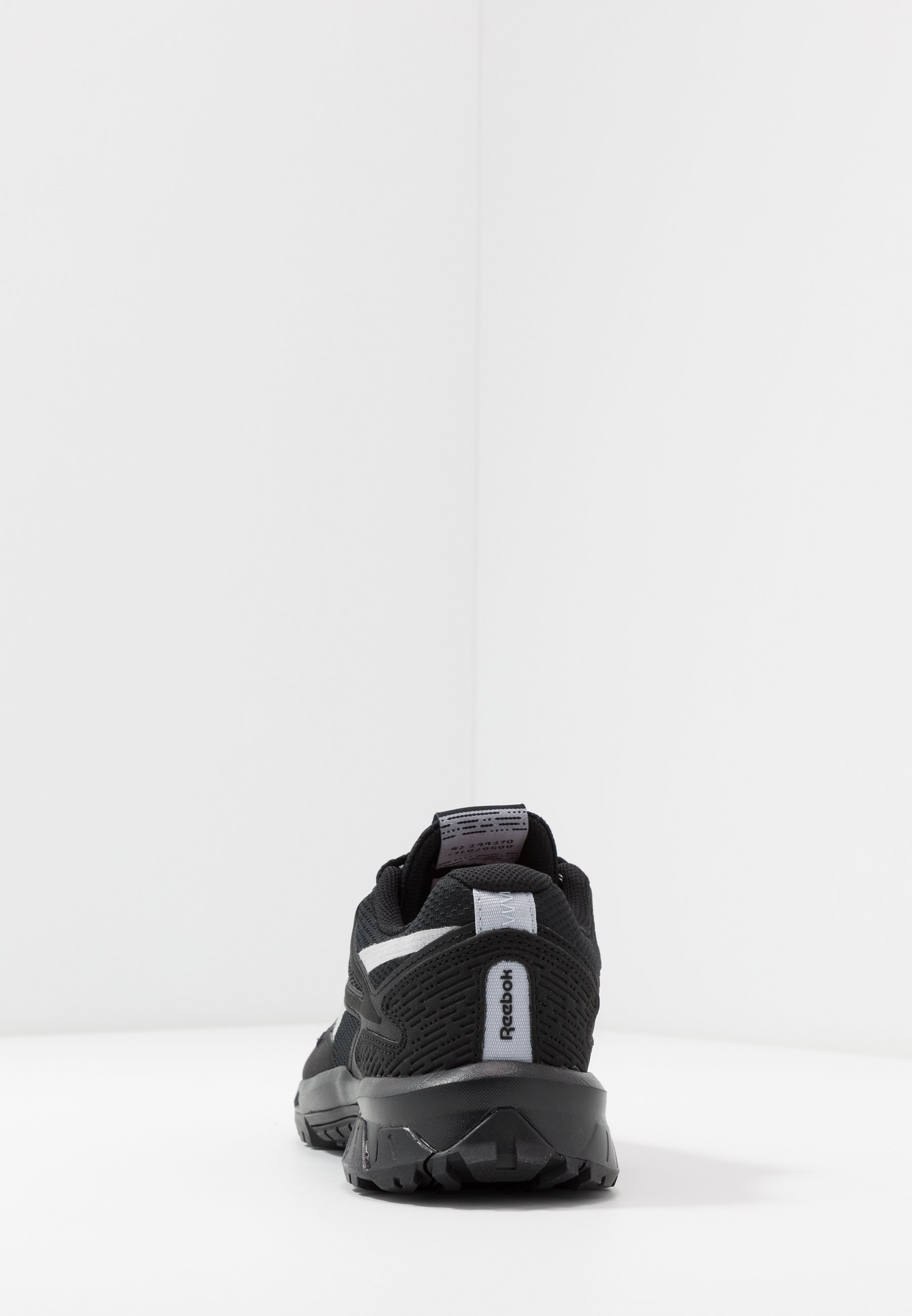 Reebok RIDGERIDER 5.0 - Obuwie do biegania treningowe - black/steel grey/solar pink