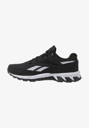 RIDGERIDER 5.0 - Neutral running shoes - black/steel grey/solar pink
