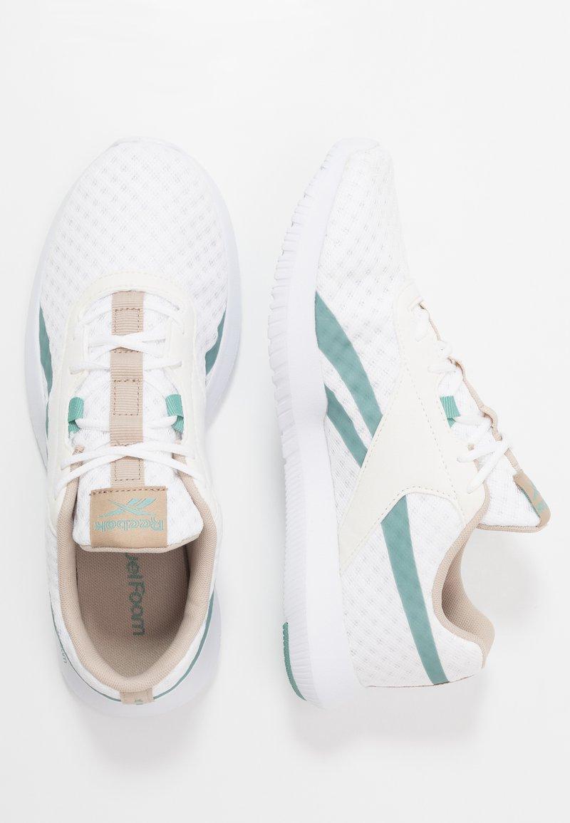 Que ficción ponerse en cuclillas  Reebok REAGO ESSENTIAL 2.0 - Sports shoes - white/modern beige ...