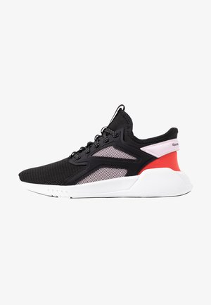 FREESTYLE MOTION - Sports shoes - black/pix pink/read red