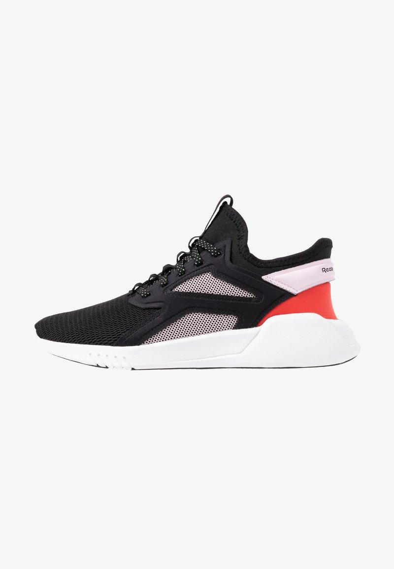 Reebok - FREESTYLE MOTION - Sports shoes - black/pix pink/read red