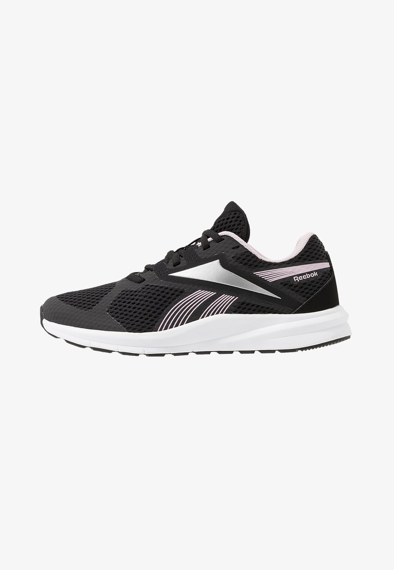 Reebok - ENDLESS ROAD 2.0 - Obuwie do biegania treningowe - black/white/pix pink