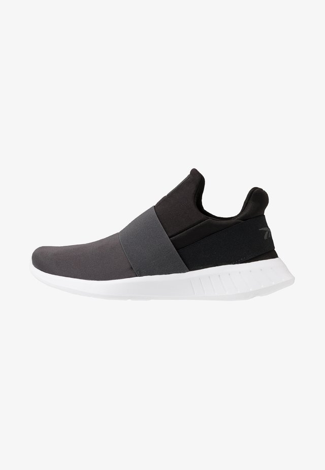 LITE SLIP ON - Obuwie do biegania treningowe - cold grey/black/white
