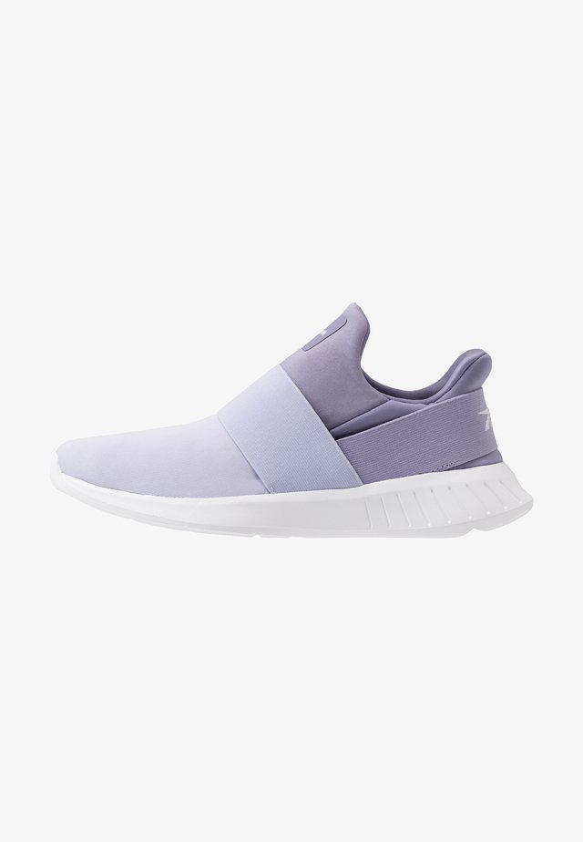 LITE SLIP ON - Zapatillas de running neutras - vision haze/wild lilac/white