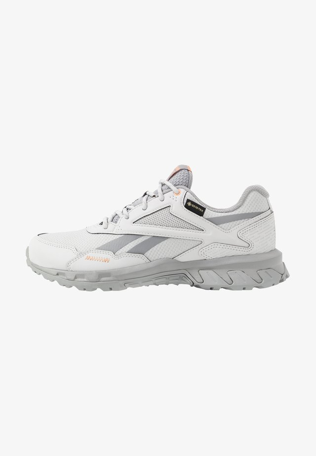 RIDGERIDER 5 GTX - Chaussures de running - grey/sun orange
