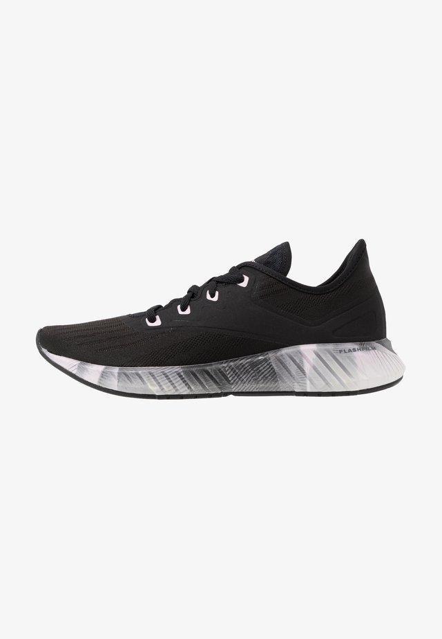 FLASHFILM 2.0 - Zapatillas de running neutras - black/cold grey/pix pink