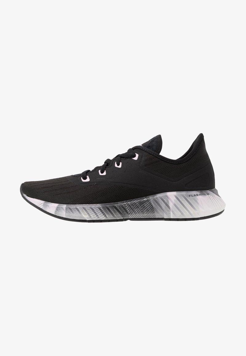 Reebok - FLASHFILM 2.0 - Chaussures de running neutres - black/cold grey/pix pink