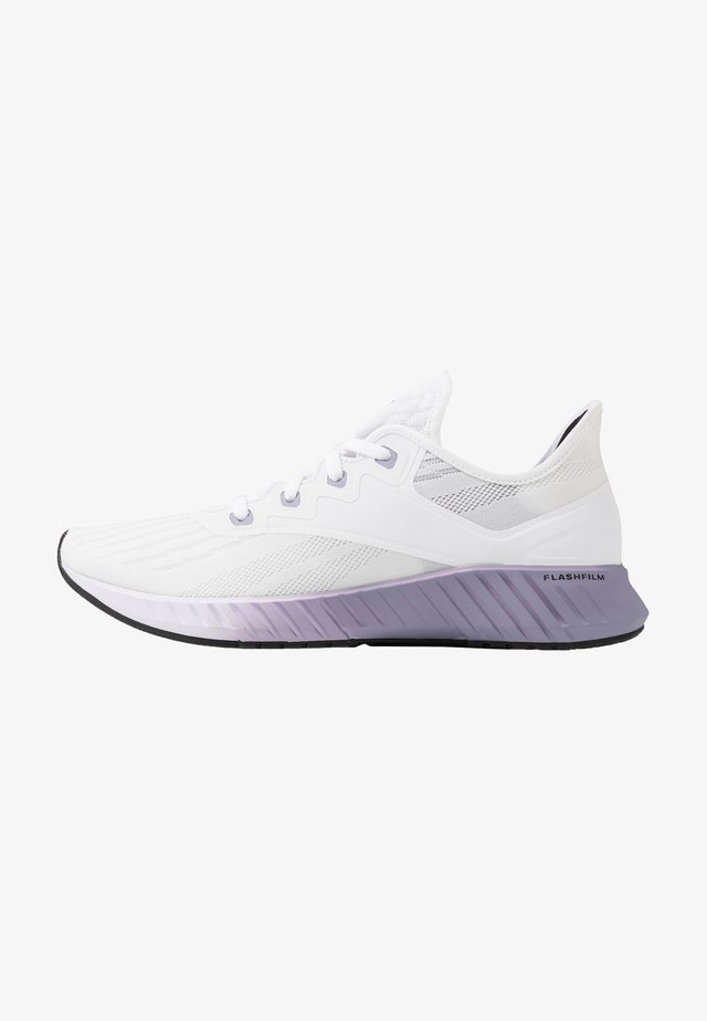 FLASHFILM 2.0 - Neutral running shoes - white/lillac frozen/vision haze