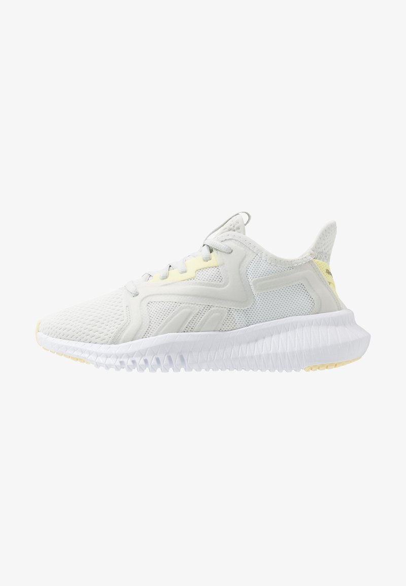 Reebok - REEBOK FLEXAGON 3.0 - Sports shoes - trace grey/lemon glow/white