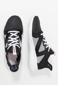 Reebok - REEBOK FLEXAGON 3.0 - Sports shoes - black/pix pink/white - 1