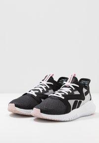 Reebok - REEBOK FLEXAGON 3.0 - Sports shoes - black/pix pink/white - 2