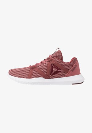 REAGO ESSENTIAL - Sports shoes - rose dust/lux maroon/white