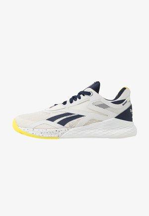 NANO X - Sports shoes - grey/vector navy/chartreuse