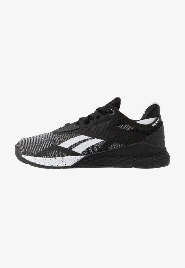 NANO X - Zapatillas de entrenamiento - black/white