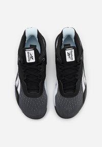 Reebok - NANO X - Chaussures d'entraînement et de fitness - black/white - 3