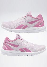 Reebok - REEBOK RUSH RUNNER 2.0 SHOES - Stabilty running shoes - pixel pink - 1
