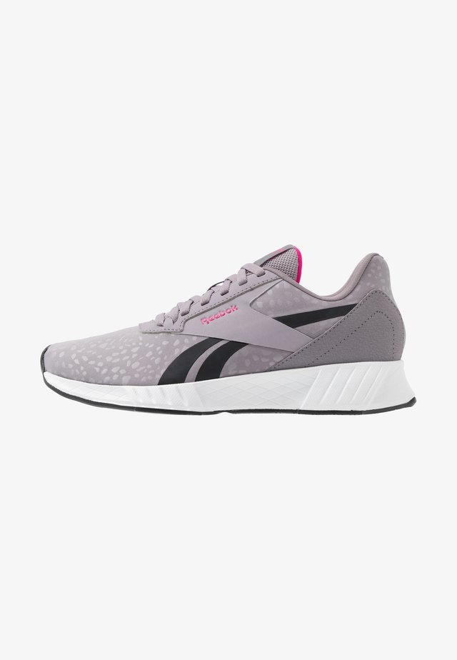 LITE PLUS 2.0 - Neutrala löparskor - grey/white/pink