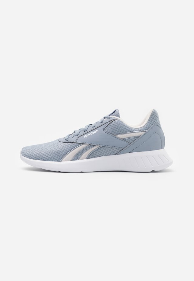 LITE 2.0 - Neutrale løbesko - metallic grey/glass pink/white