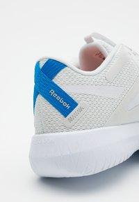 Reebok - FLEXAGON FORCE 2.0 - Sports shoes - grey/white/blue - 5