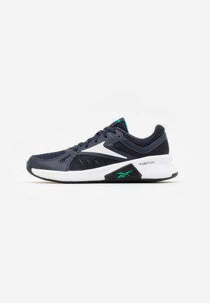 ADVANCED TRAINETTE - Sports shoes - power navy/true grey/court green