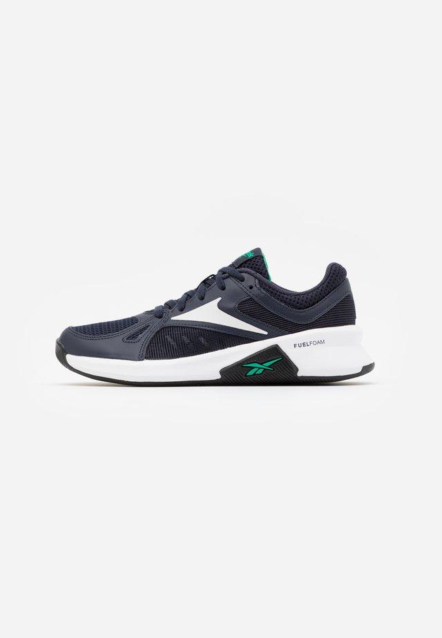 ADVANCED TRAINETTE - Sportschoenen - power navy/true grey/court green