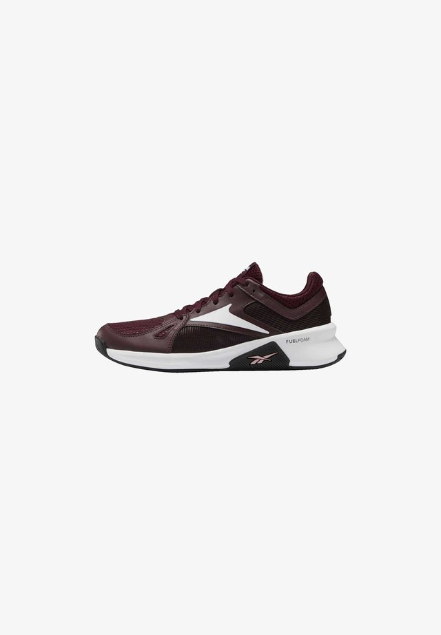 ADVANCED TRAINETTE SHOES - Sneaker low - burgundy