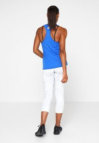 Reebok - GRAPHIC TANK - T-shirt sportiva - vital blue - 2