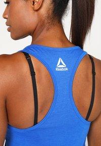 Reebok - GRAPHIC TANK - T-shirt sportiva - vital blue - 4