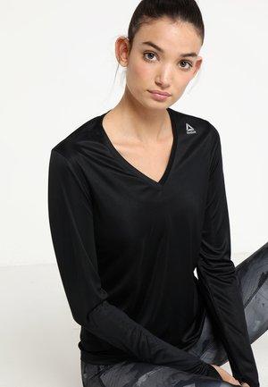 TEE - Funktionsshirt - black