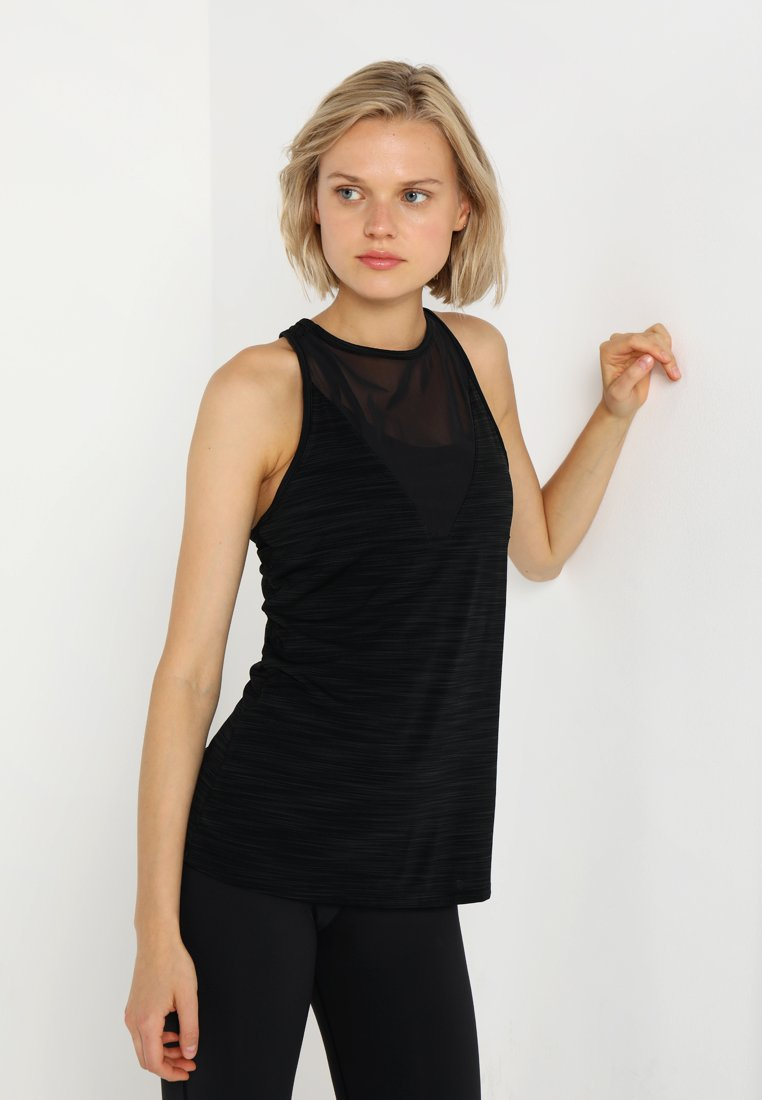 Reebok - ACTIVCHILL TANK - Funktionsshirt - black