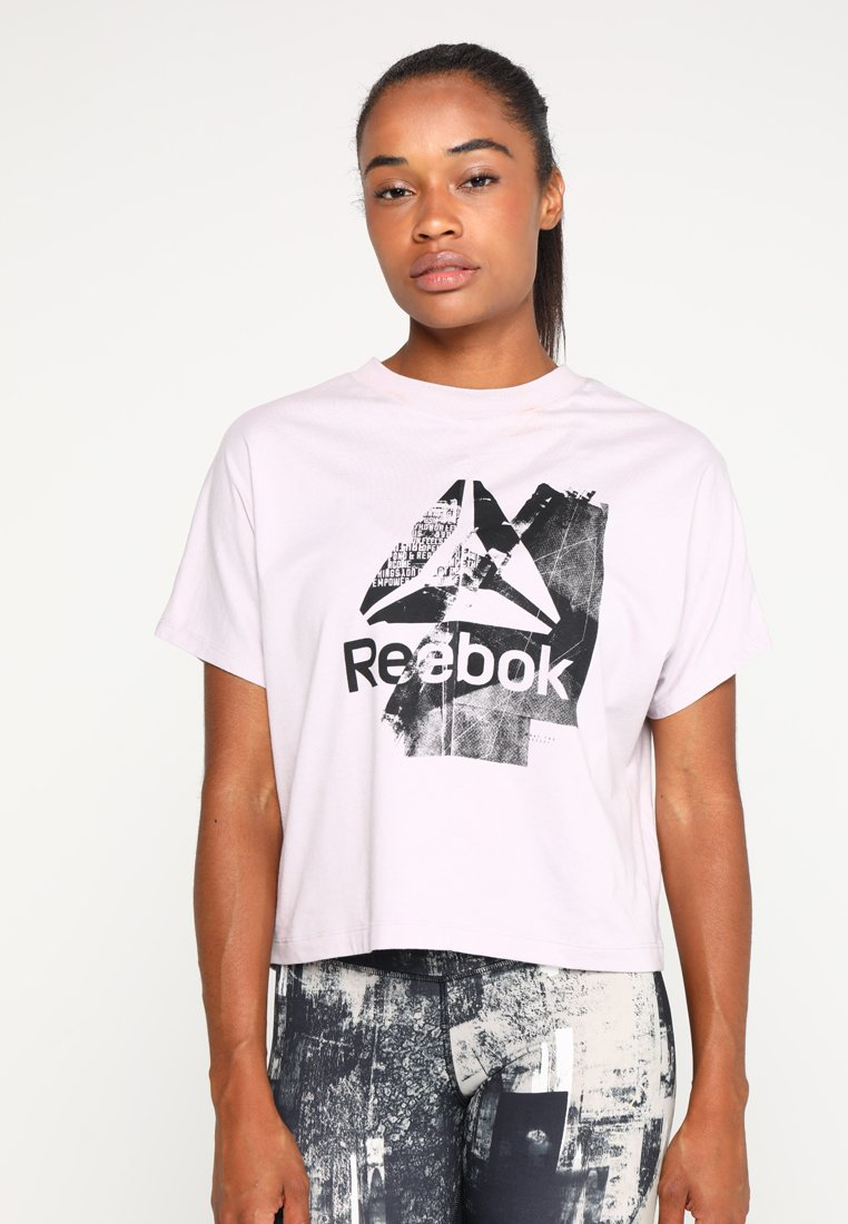 Reebok - GRAPHIC TEE - Camiseta estampada - lilac